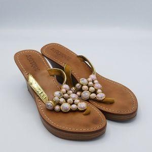 Mystique wedge sandals
